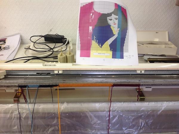 machine à tricoter lyon