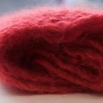 chèche en tricot fait main