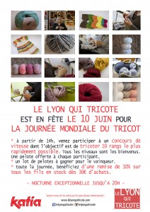 journee mondiale du tricot lyon