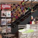 katia chez le lyon qui tricote