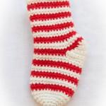 chaussettes de noel en tricot