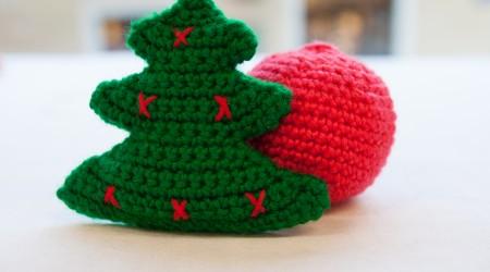 tricoter les décorations de noel
