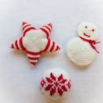 décorations de noel tricot