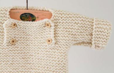 layette en tricot bébé