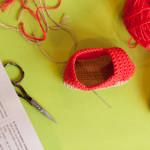 crochet chaussons bébé