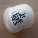 pelote blanche wool & the gang chez le lyon qui tricote