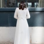 boléro mariage tricoté par le lyon qui tricote à lyon