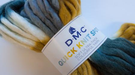 laine quick knit DMC lyon