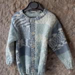 veste tricotée main le lyon qui tricote