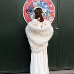 veste tricotée pour un mariage le lyon qui tricote
