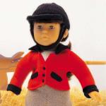fiche tricot poupée Corolle modèle manège